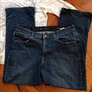 Lee Sinfully Soft Jeans Dark Wash Size 18 Petite